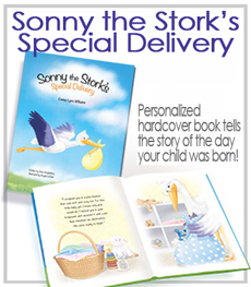 Sonny the Stork Personalized Books